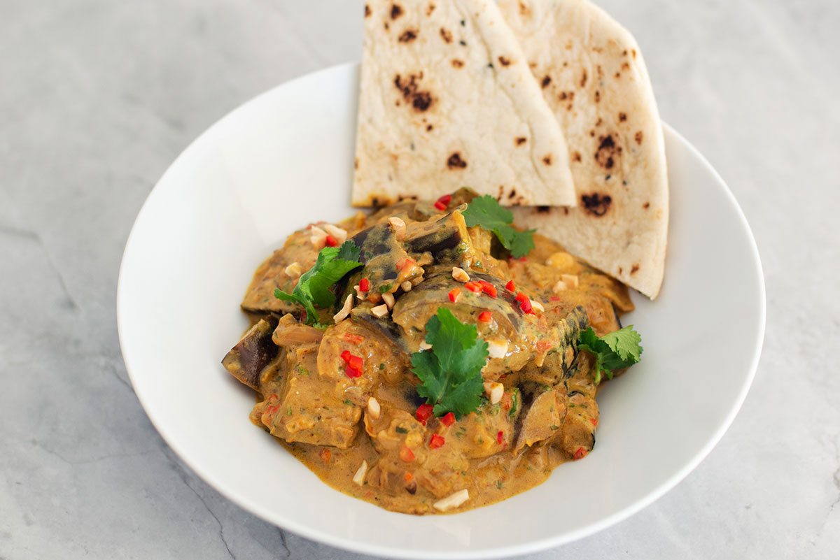 Eggplant & Coconut Curry